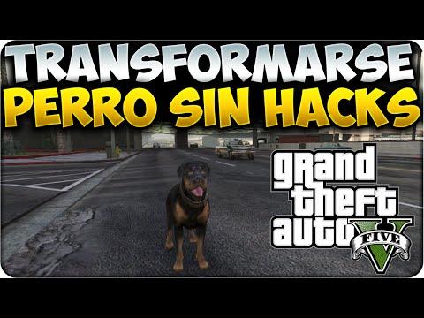 GTA 5 - Tutorial Transformarse En Cualquier Cosa SIN HACKS - PERRO, ALIEN, PROSTITUTA... GTA V 1.15