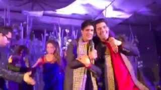 Mika singh dancing with sonakshi,karan johar, urmila and Manish malhotra