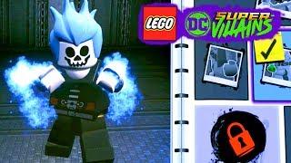 LEGO DC Super villains #178 MOTOQUEIRO FANTASMA AZUL CRIANDO PERSONAGENS Dublado