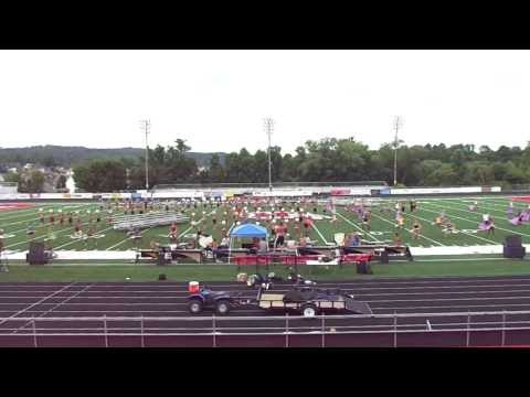Bluecoats 2013 Full - @Hurricane High School - Hurricane, West Virginia