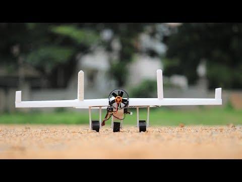 How to make a RC DIY Airplane - Aeroplane