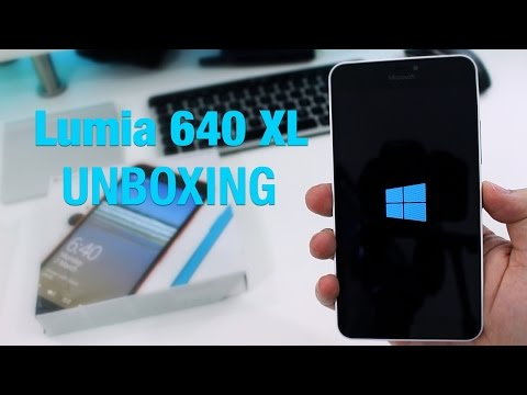 Microsoft Lumia 640 XL unboxing and first impressions