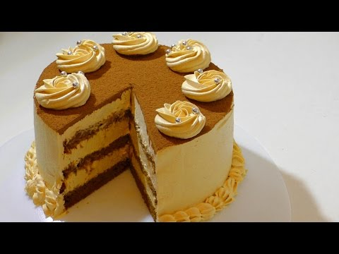 КАРАМЕЛЬНЫЙ ТОРТ  оообъеденье . Caramel cake.