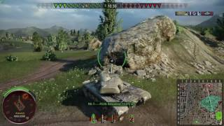 World of Tanks PS4 - T110E5 Find those campers!!