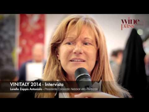Vinitaly 2014 - Intervista a Lorella Zoppis Antoniolo