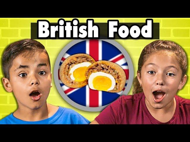 Kids Try British Food  Kids Vs. Food