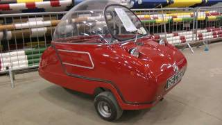 Peel Trident 1965. Walkaround and drive away