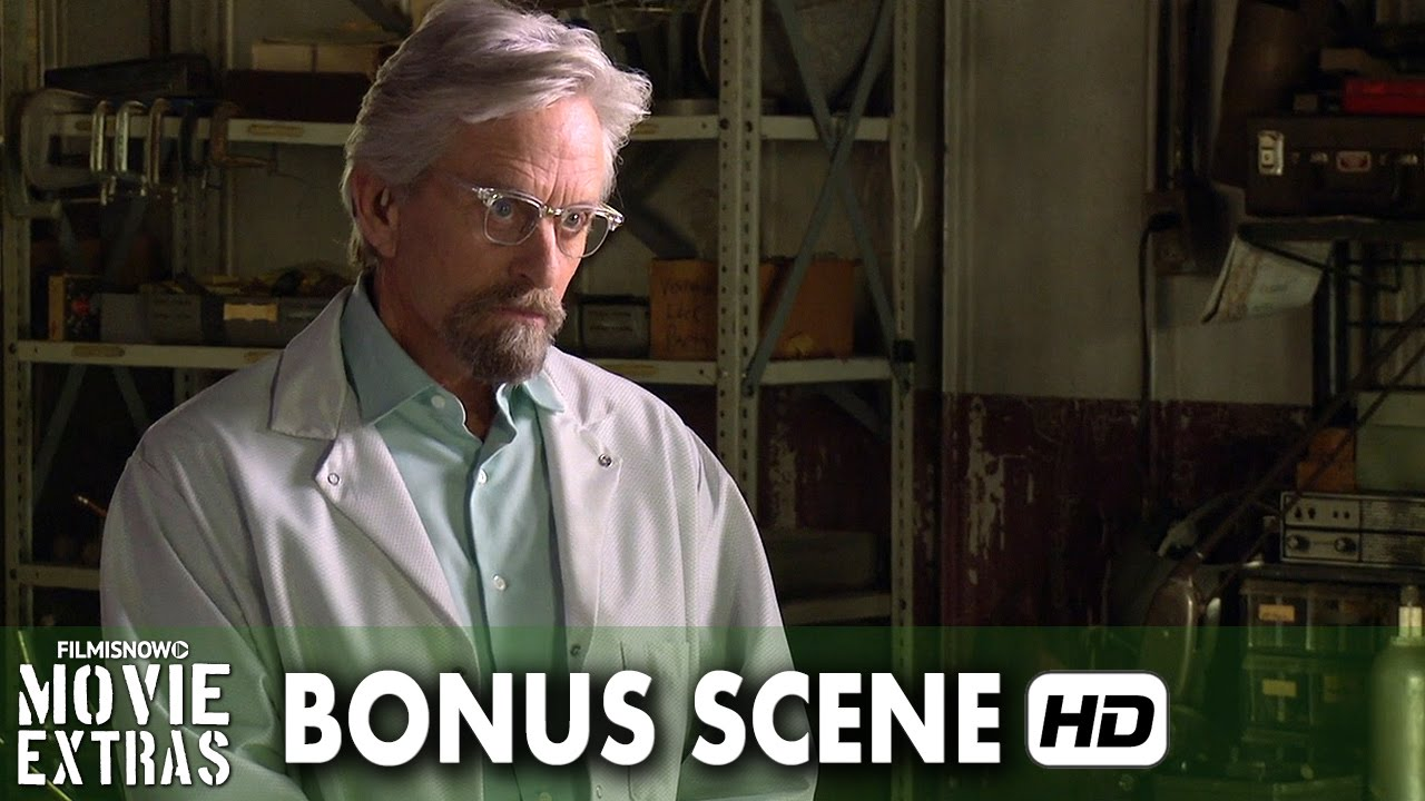 Ant-Man (2015) Blu-ray-DVD Bonus Scene #1 - Hank Pym