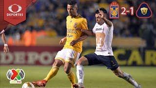 Tigres derrota a Pumas | Tigres 2 - 1 Pumas | Liga MX - Cuartos | Televisa Deportes