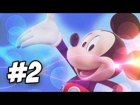 Disney's Magical Mirror Starring Mickey Mouse Walkthrough - Part 2 (Gamecube)