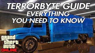 GTA ONLINE - TERRORBYTE GUIDE - EVERYTHING YOU NEED TO KNOW!!!
