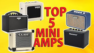 Top 5 Guitar Mini Amps | Review & Tone Testing