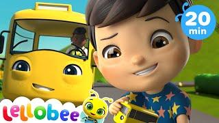 Wheels on the bus | Baby Songs | +More Nursery Rhymes & Kids Songs | Little Baby Bum | Kids Songs