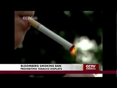 Controversial Smoking Ban in NYC