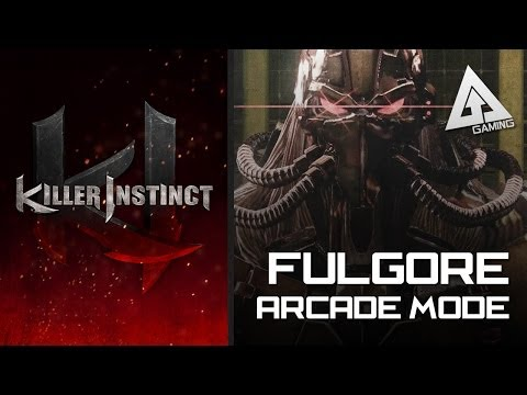 Killer Instinct Xbox One Fulgore Arcade Mode