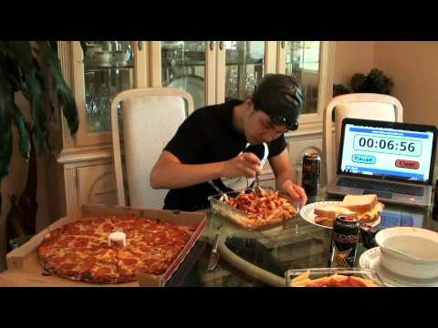 Michael Phelps 12,000+cal Diet Challenge