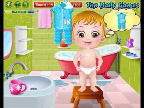 baby hazel bath