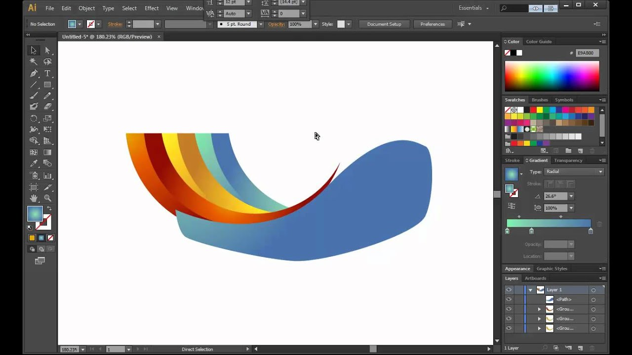Illustrator Cs6 Character Design : Illustrator cs logo design tutorial archfold youtube