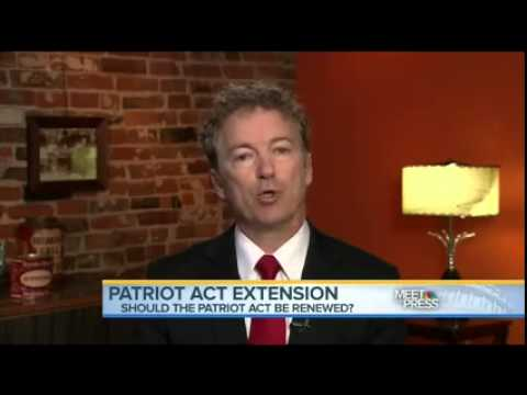 Rand Paul Appears on NBC's Meet the Press- May 17, 2015