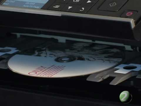 Direct to Disc CD DVD Printing with the Epson Artisan 710 - How to Copy Disc Artwork