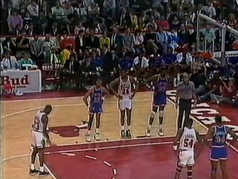 MICHAEL JORDAN: 40 pts vs New York Knicks (1989 ECSF - Game 6)