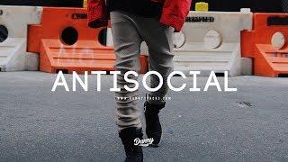 """""""Antisocial"""" - Dark Trap Hip Hop Beat Instrumental (dannyebtracks)"""
