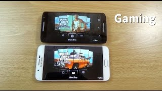 GTA San Andreas Moto X Play VS Galaxy A8 Gaming - Which Is Better?