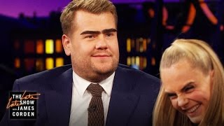 James Corden Steps Up His Eyebrow Game