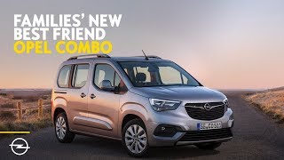 Families' New Best Friend   Discover the all-new 2018 Opel Combo Life