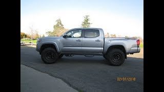 2017 TOYOTA TACOMA TRD OFF ROAD 4X4 LIFTED