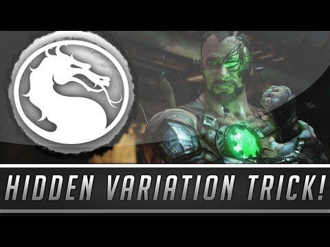 Mortal Kombat X: Play With No Character Variations! - Secret Variation Option! (Mortal Kombat 10)