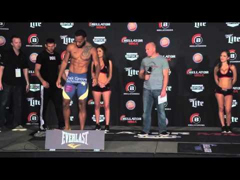 Bellator MMA: Bellator 129 Official Weigh-Ins