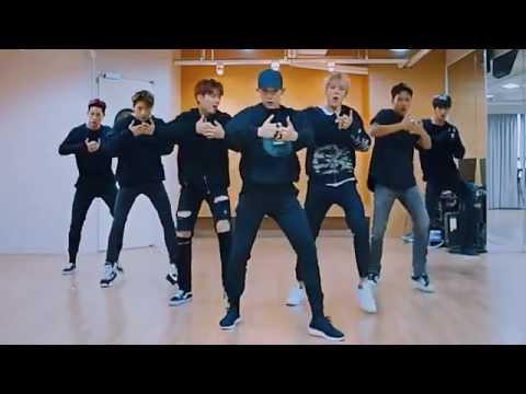 開始Youtube練舞:HERO-Monsta X | 鏡像影片
