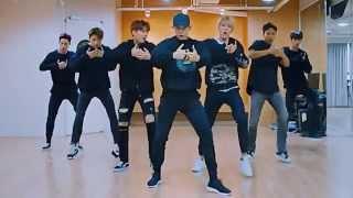 Monsta X HERO mirrored Dance Practice