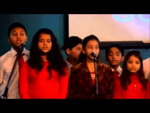Hindi Christmas Song By ABC Teen's Choir At Mother Church. HD