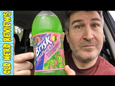 Brisk Half & Half Iced Tea/Watermelon Lemonade REVIEW   7 Eleven Exclusive!