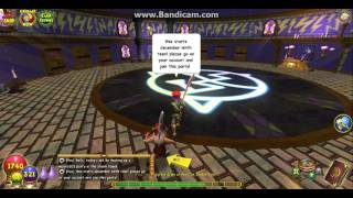 Wizard101! Upcoming Christmas Party on 12/19/2016