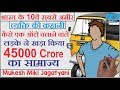 The Success story of Mukesh miki jagatyani in hindi! (Motivational Life story) Animated!