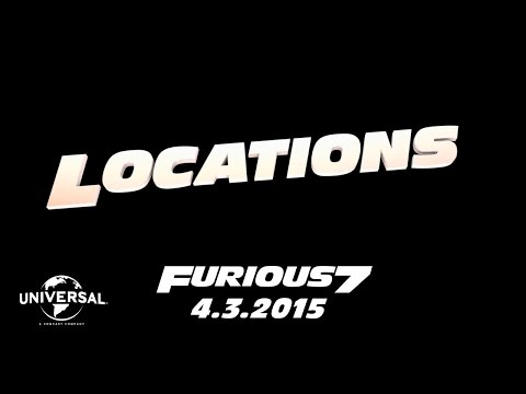 Furious 7 Cast Favorites - Locations (HD)