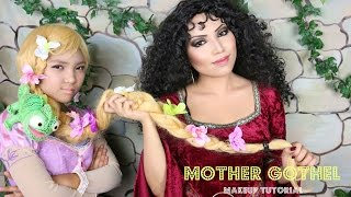 TANGLED Mother Gothel Makeup Tutorial