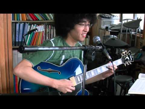 枯葉(Autumn Leaves)をギター演奏/アフロ(幾島学)