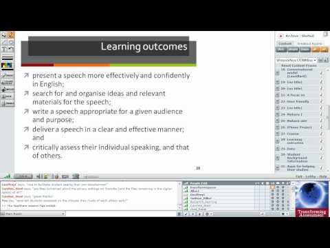 [3 of 6] Mobile eLearning - mLearning for language enhancement education.