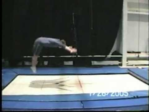 Adam Menzies: Trampoline Demo Video 2005