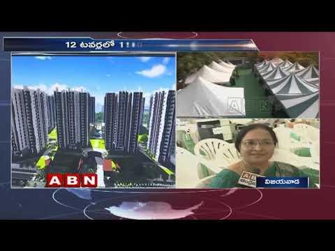 హ్యాపీనెస్ట్ ప్లాట్ల బుకింగ్ ప్రక్రియ ప్రారంభం   Amaravati Happy Nest Housing Project by CRDA