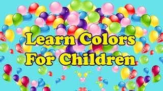 Learn Colors With Colorful Balloons | How To Learn Colors | Finger Family Color Song | Nursery Rhyme