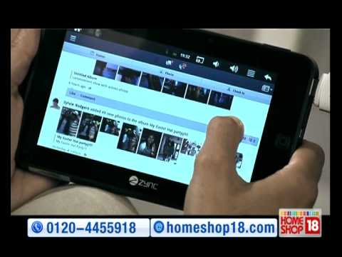 Tablet 7 inch Multi Touch by Zync - HomeShop18.com