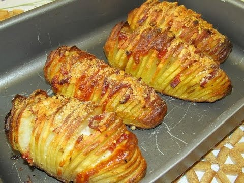 Sfogliatelle di Patate con Speck e Paprika | HASSELBACK POTATOES | RICETTA SEMPLICE