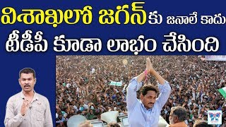 Grand Welcome for YS Jagan in Visakhapatnam | Praja Sankalpa Padayatra Updates | YSRCP | Myra Media