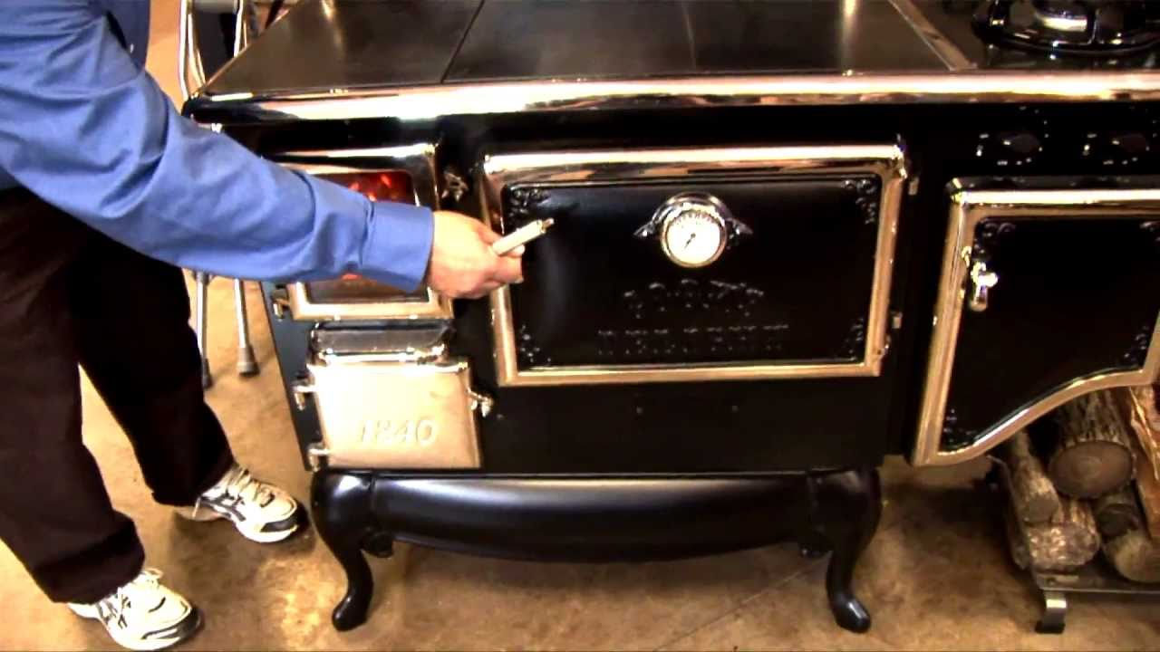 How To Use A Wood Cook Stove Youtube