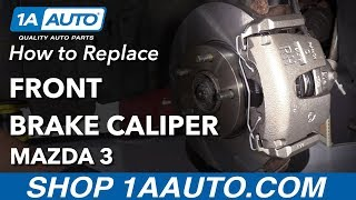 How to Replace Front Brake Caliper on a 2007 Mazda 3